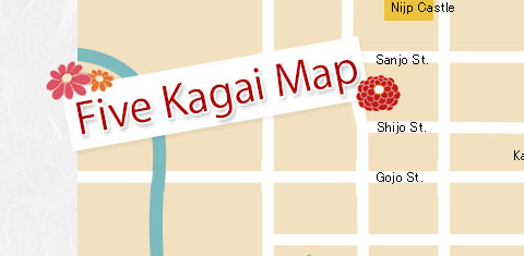 Five Kagai Map